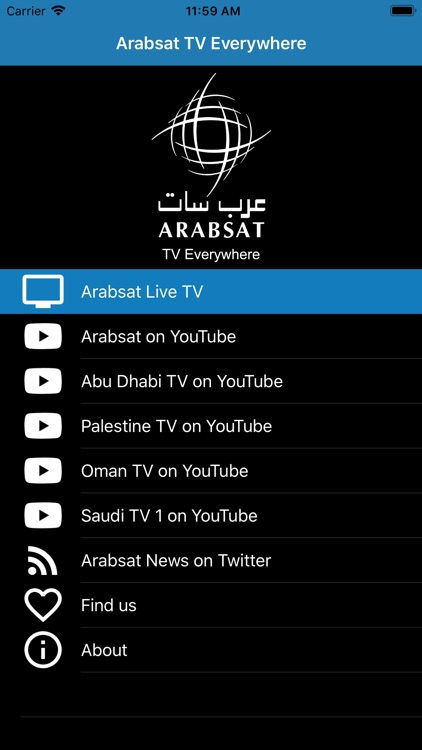 Arabsat TV Everywhere new