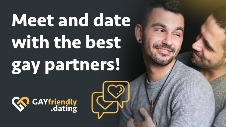 Gay Friendly - Dating Chat App