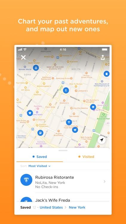 Foursquare Swarm: Check-in App screenshot-4