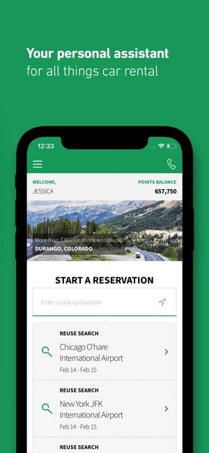 Enterprise Rent A Car On The App Store
