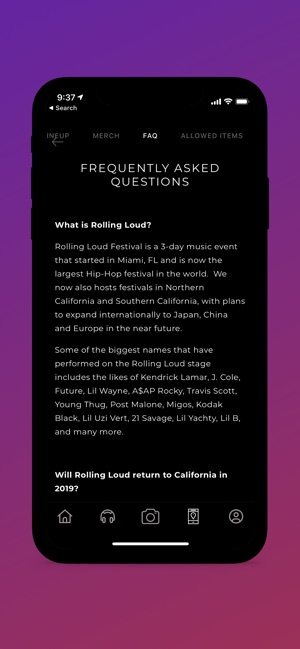 Rolling Loud on the App Store