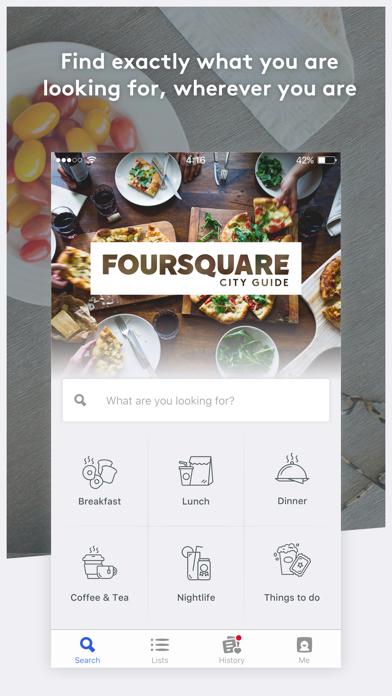 Foursquare City Guide iPhone