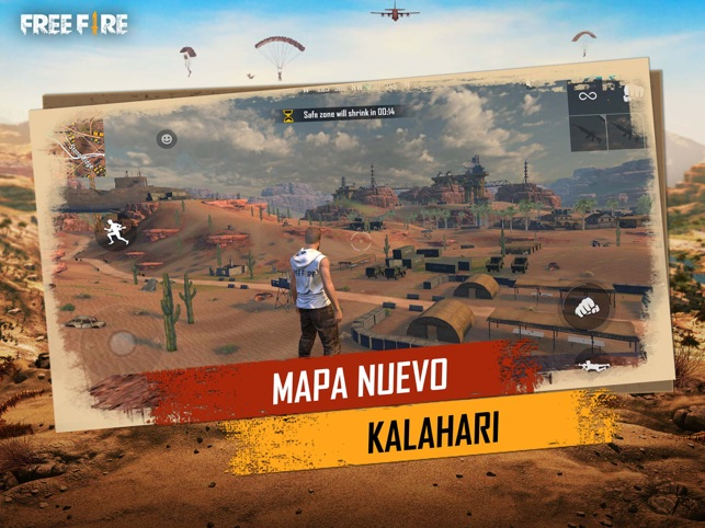‎Garena Free Fire: Kalahari Screenshot
