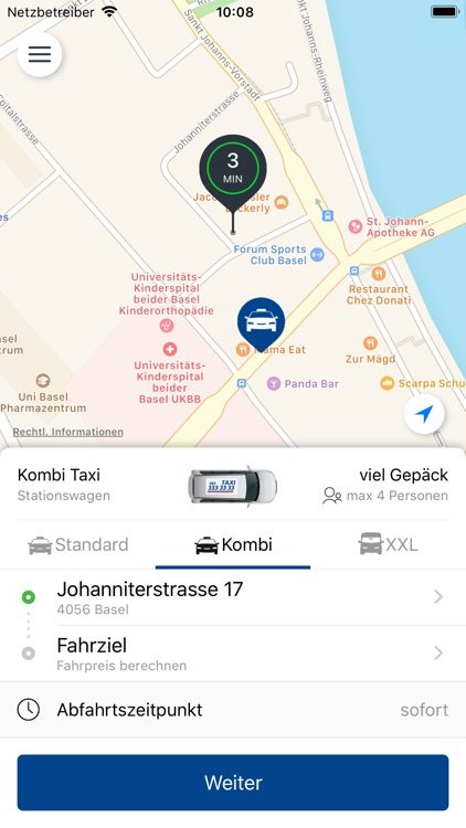 33er Taxi AG, Basel screenshot-3