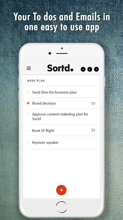 Sortd - Tasks | Emails | Lists