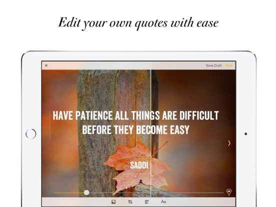 Quotify - Your Quotes, Our Inspirations screenshot