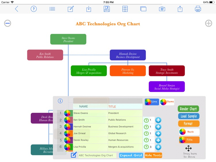 Org Chart Maker screenshot-0