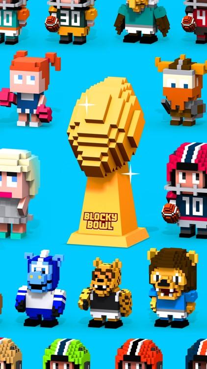 Blocky Football screenshot-4