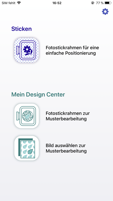Screenshot for Brother My Design Snap in Germany App Store