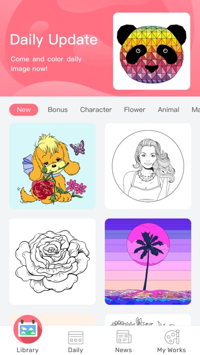 download Paint By Number: Coloring Book apps 4