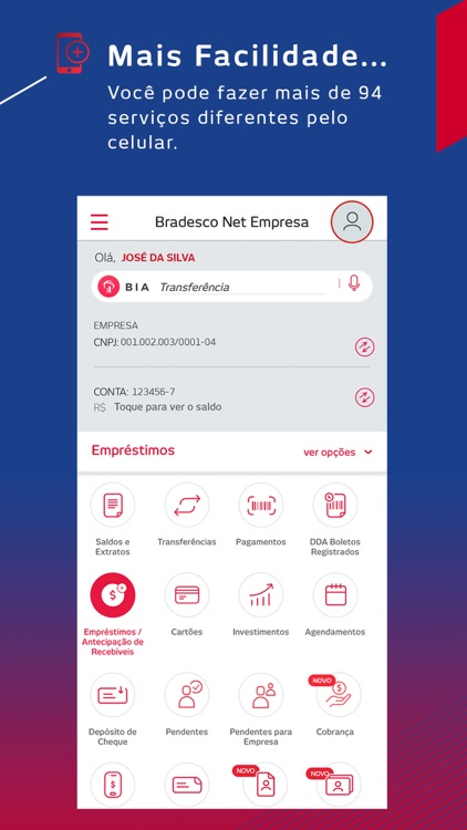 Bradesco Net Empresa screenshot-3