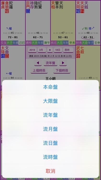 紫微四化飛星 screenshot-4