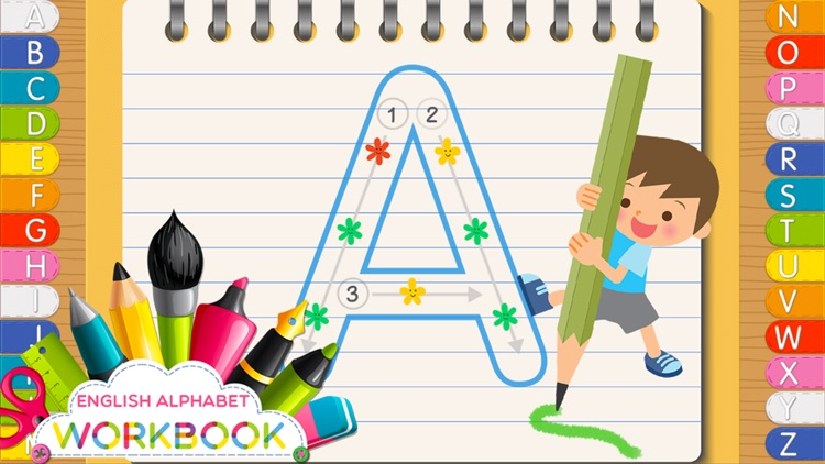 ABC my First Words Workbook