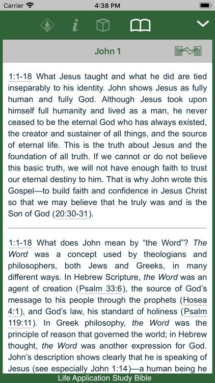 Life Application Study Bible screenshot-4