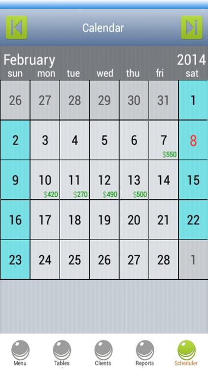Restaurant Scheduling Software screenshot-3