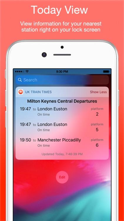 UK Live Trains screenshot-4