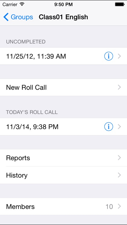 Roll Call +