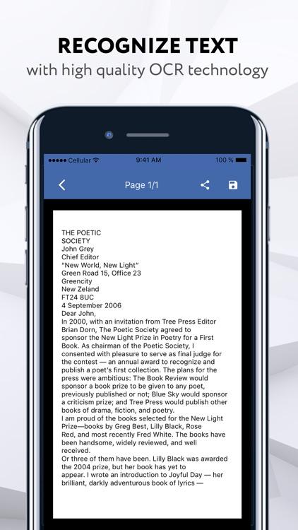 docScanner-PDF Doc Scanner App screenshot-3