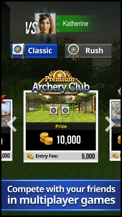 Screenshot from Archery King