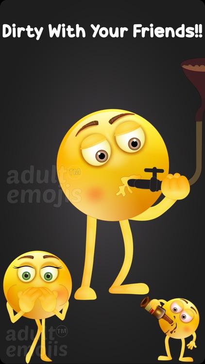 Dirty Emoji Sticker Keyboard