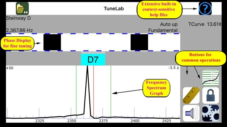 TuneLab Piano Tuner screenshot-3
