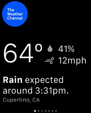Weather: The Weather Channel Screenshot