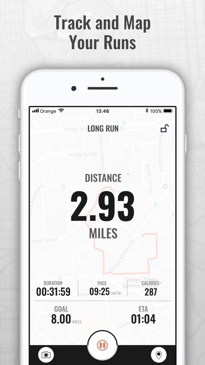 Marathon Trainer & Run Tracker