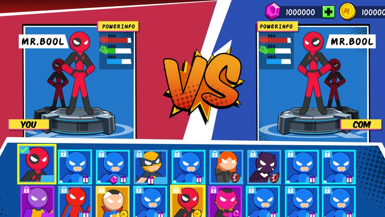 Stick Superhero: Offline Games screenshot-4
