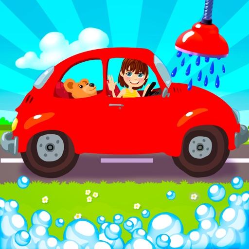 автомобиль и грузовик мыть - смешные машины чистки игра для маленьких детей и малышей облегченный