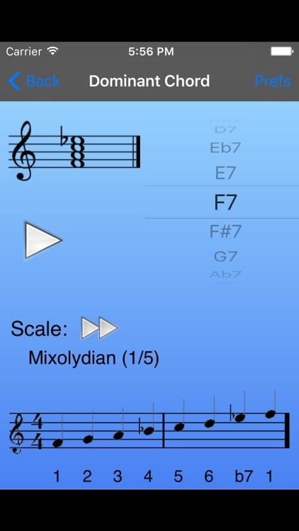 iImprov-Chord/Scale Compendium