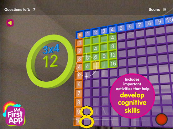 Multiplication table - AR game screenshot 9