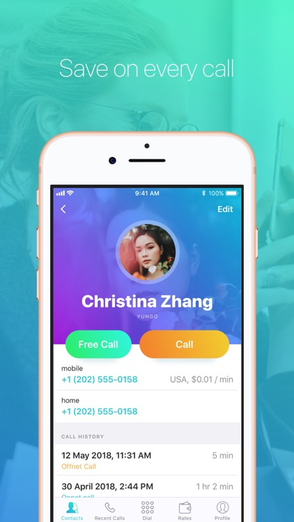 YunGO International Calls