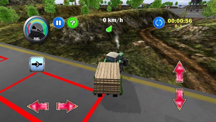 Tractor Farm Driver - Gold screenshot-3