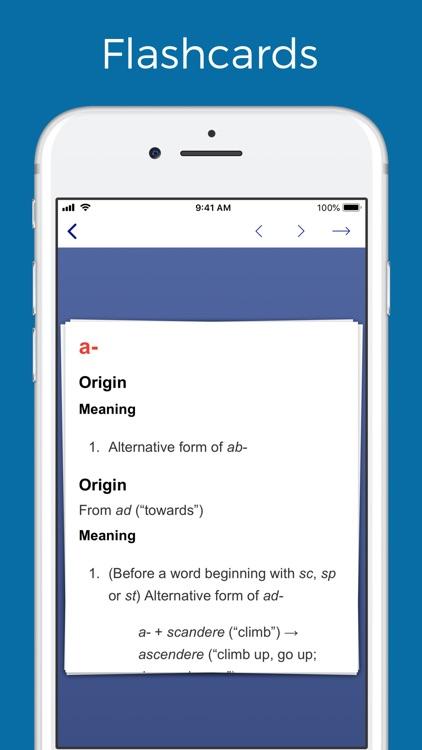 Latin prefixes and suffixes screenshot-4