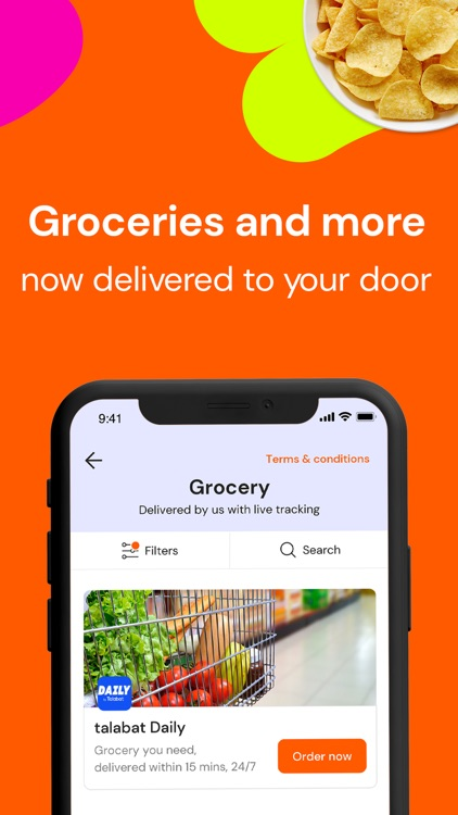 talabat: Food & Grocery order screenshot-3