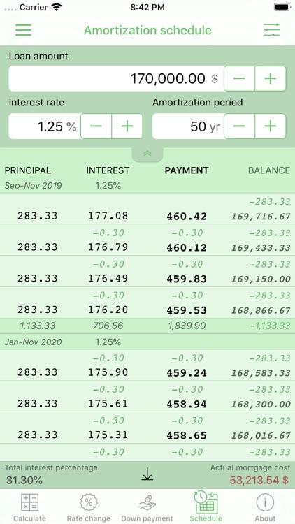 Home Mortgage Calculator screenshot-8
