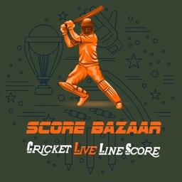 ScoreBazaar Cricket Live Line