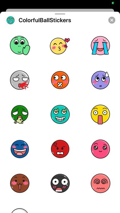 ColorfulBallStickers screenshot-5