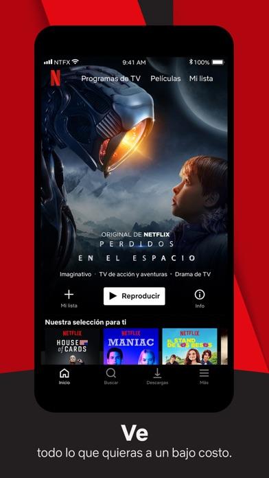 Screenshot for Netflix in Ecuador App Store