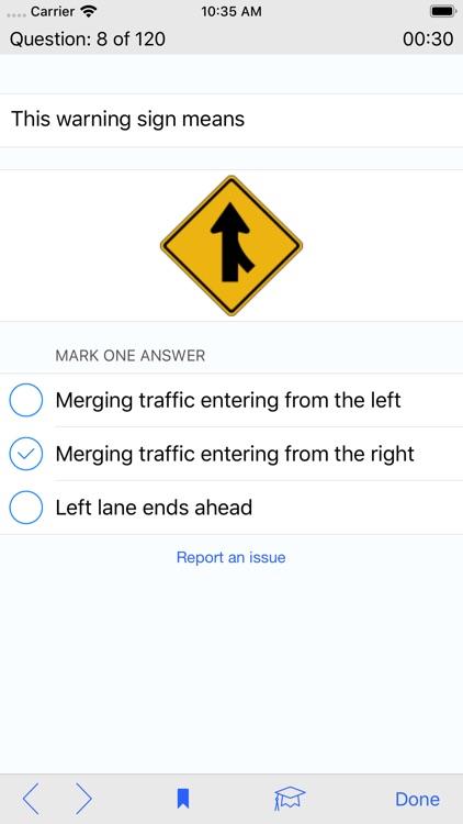 West Virginia DMV Test Prep screenshot-3