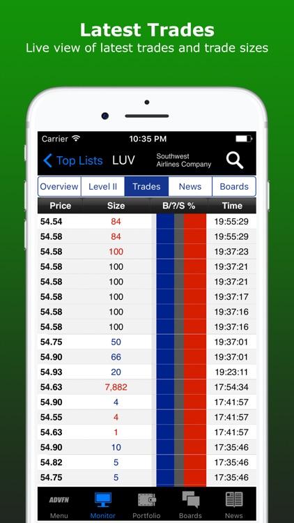 ADVFN Realtime Stocks & Crypto screenshot-4