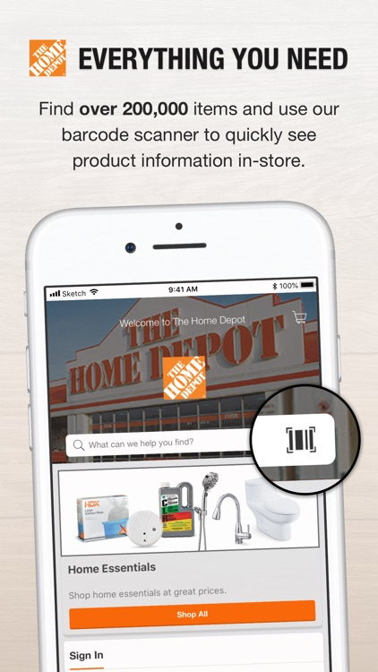 The Home Depot Canada screenshot-0