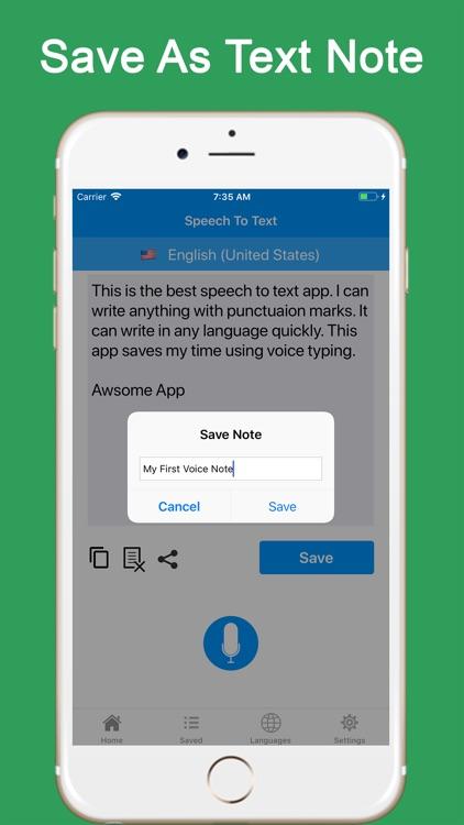 Speech to Text - Voice Notes screenshot-4