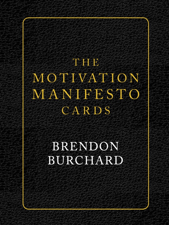 Motivation Manifesto Cards screenshot 6