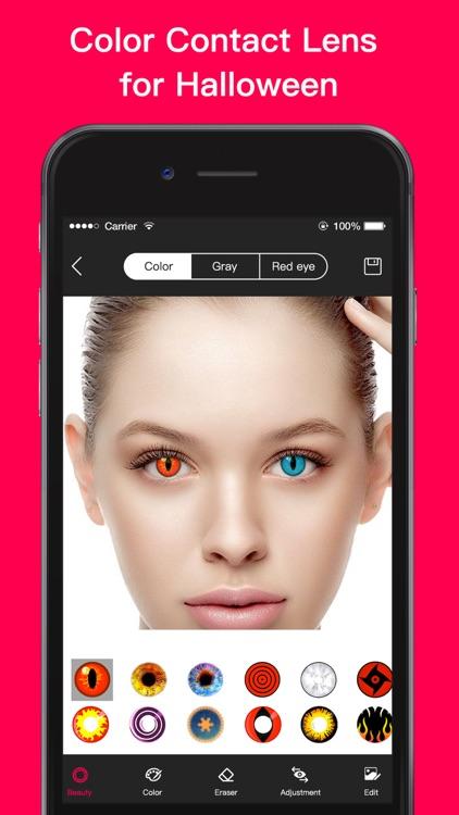 Magic Eye Color-Face Makeup screenshot-8