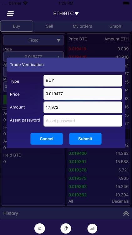 MoonX Crypto Trading Platform screenshot-4