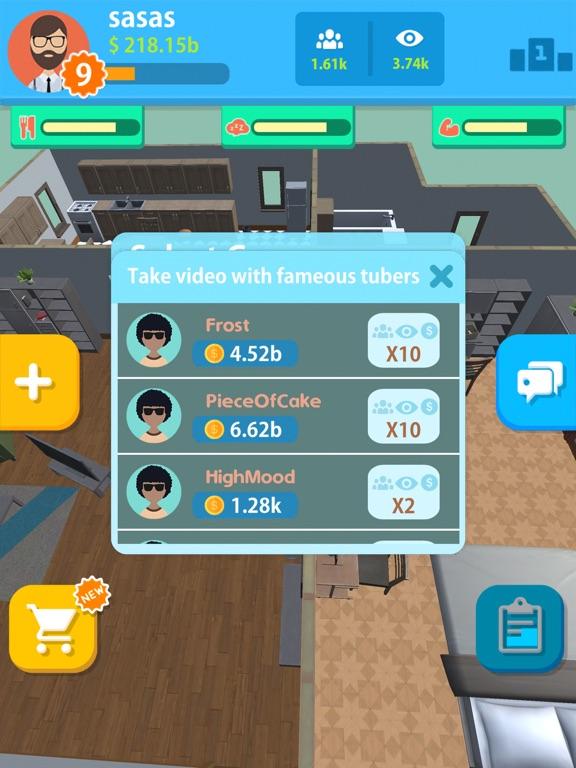 uTubers.idle screenshot 17