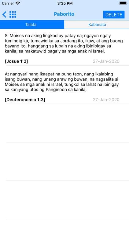 Holy Bible in Filipino screenshot-9