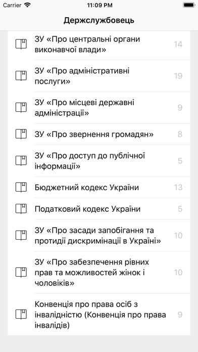 Тест держслужбовця України screenshot 2