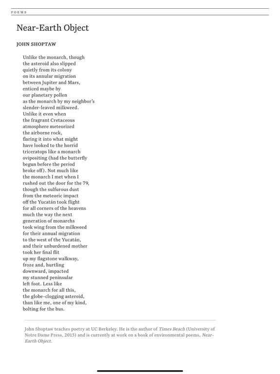 Poetry Magazine App screenshot